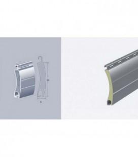 Avvolgibile in alluminio MINI con poliuretano espanso 6x44