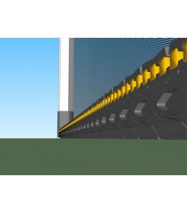 Zanzariera Scenica Bettio laterale senza barriere da 50