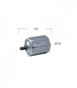 Calotta regolabile d.60 in ferro zincato