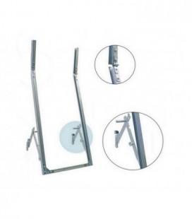 Telaio a sporgere in ferro zincato