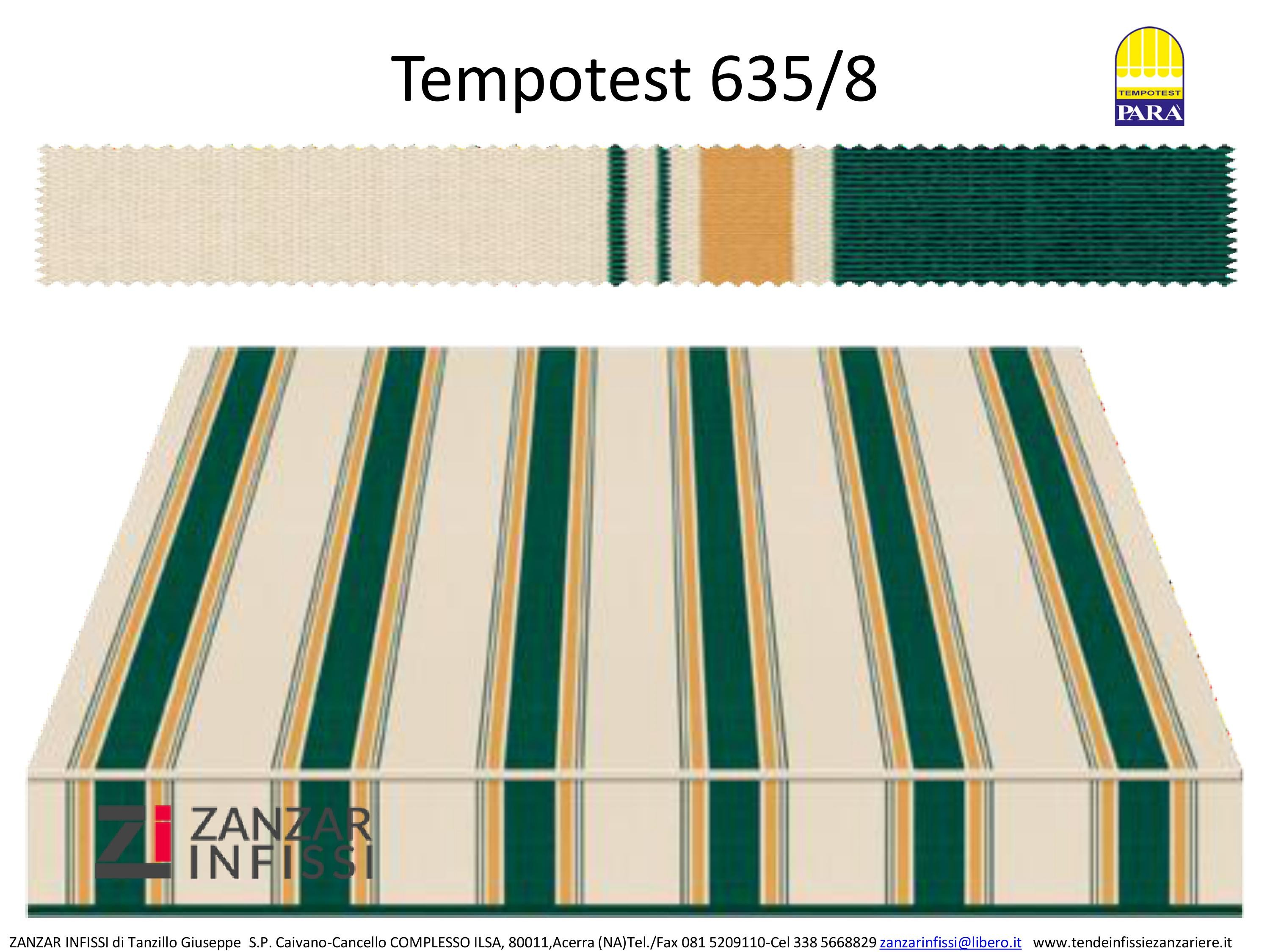 Tempotest 635/8