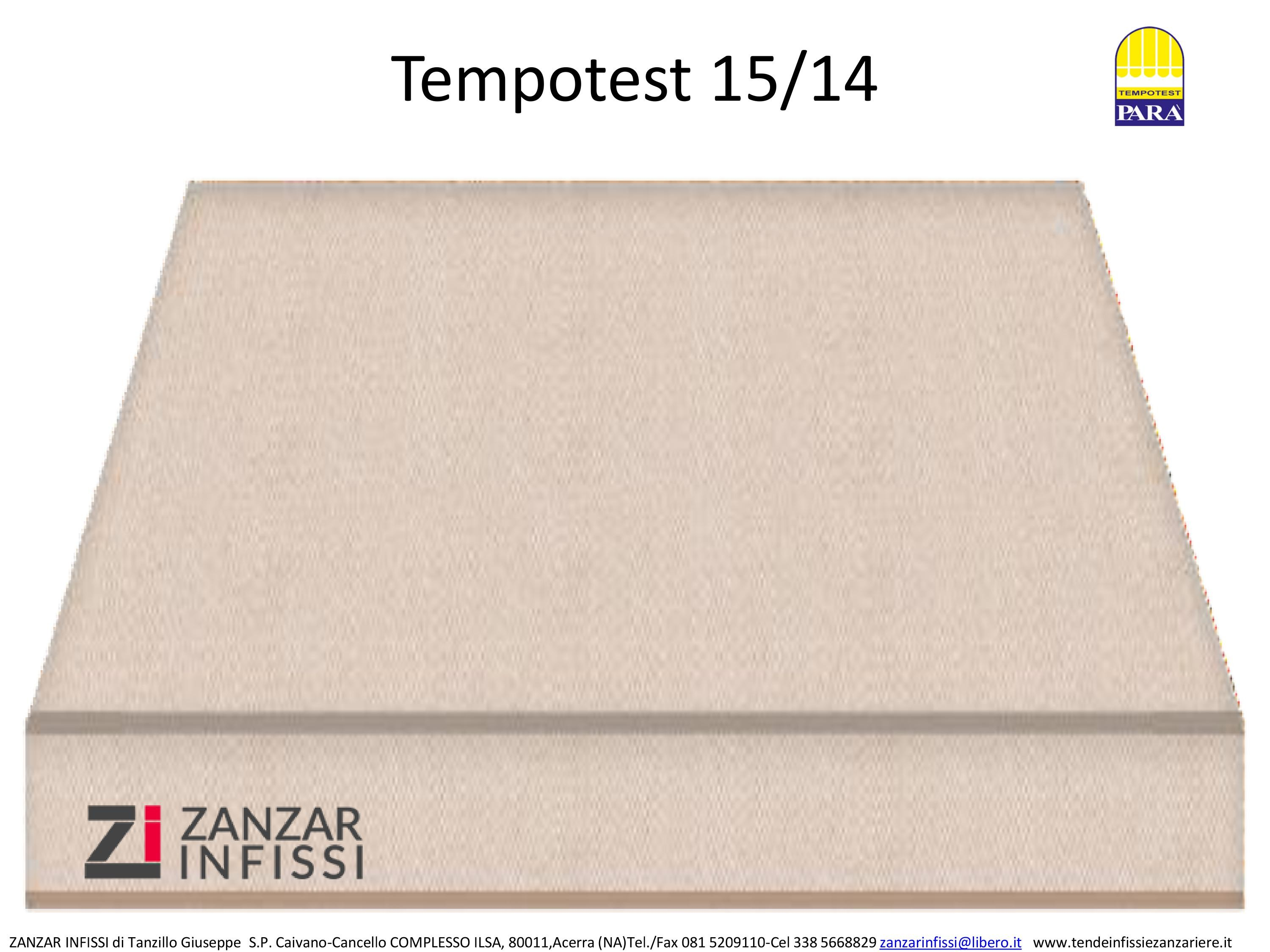 Tempotest 15/14