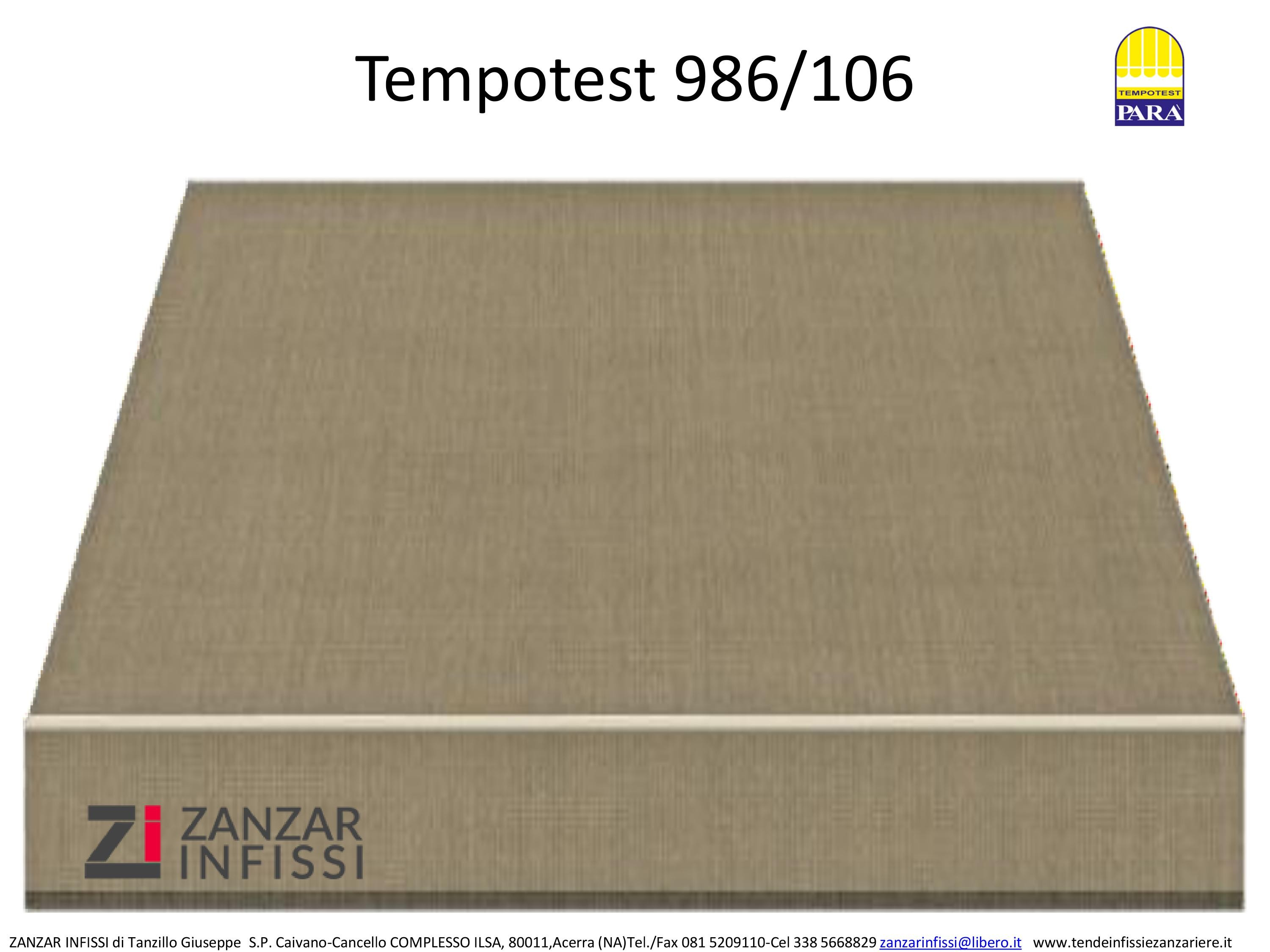 Tempotest 986/106