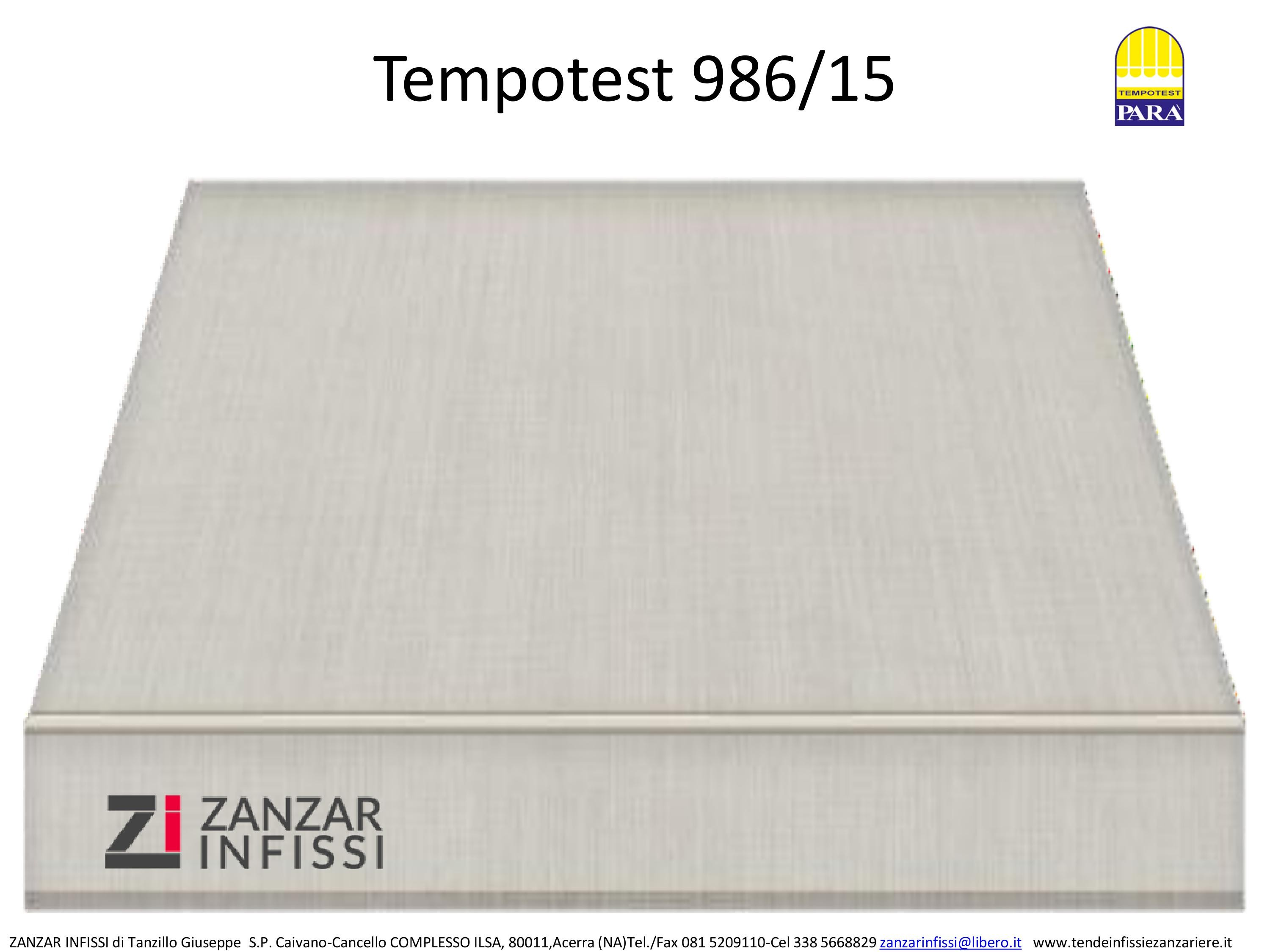 Tempotest 986/15