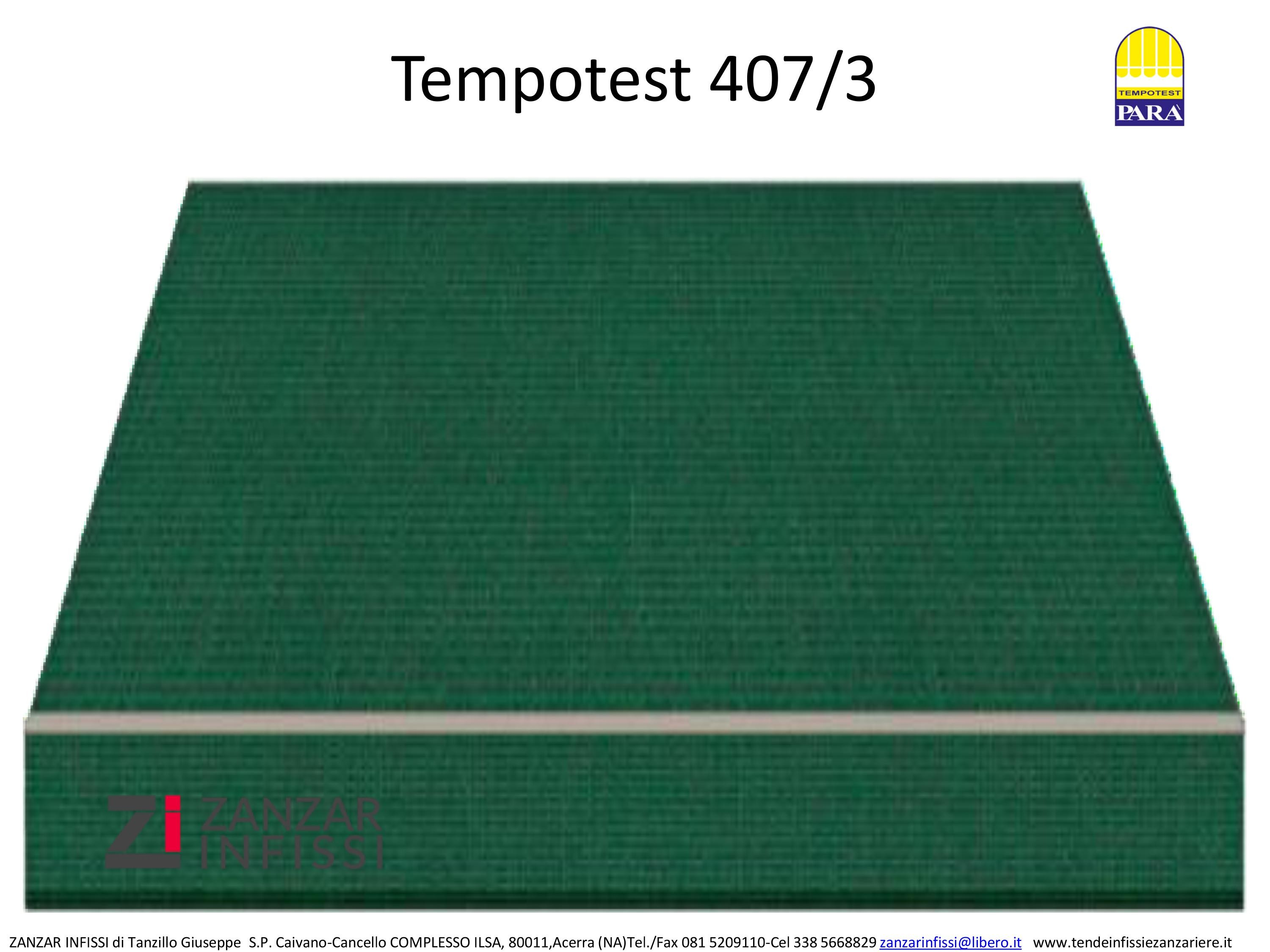 Tempotest 407/3