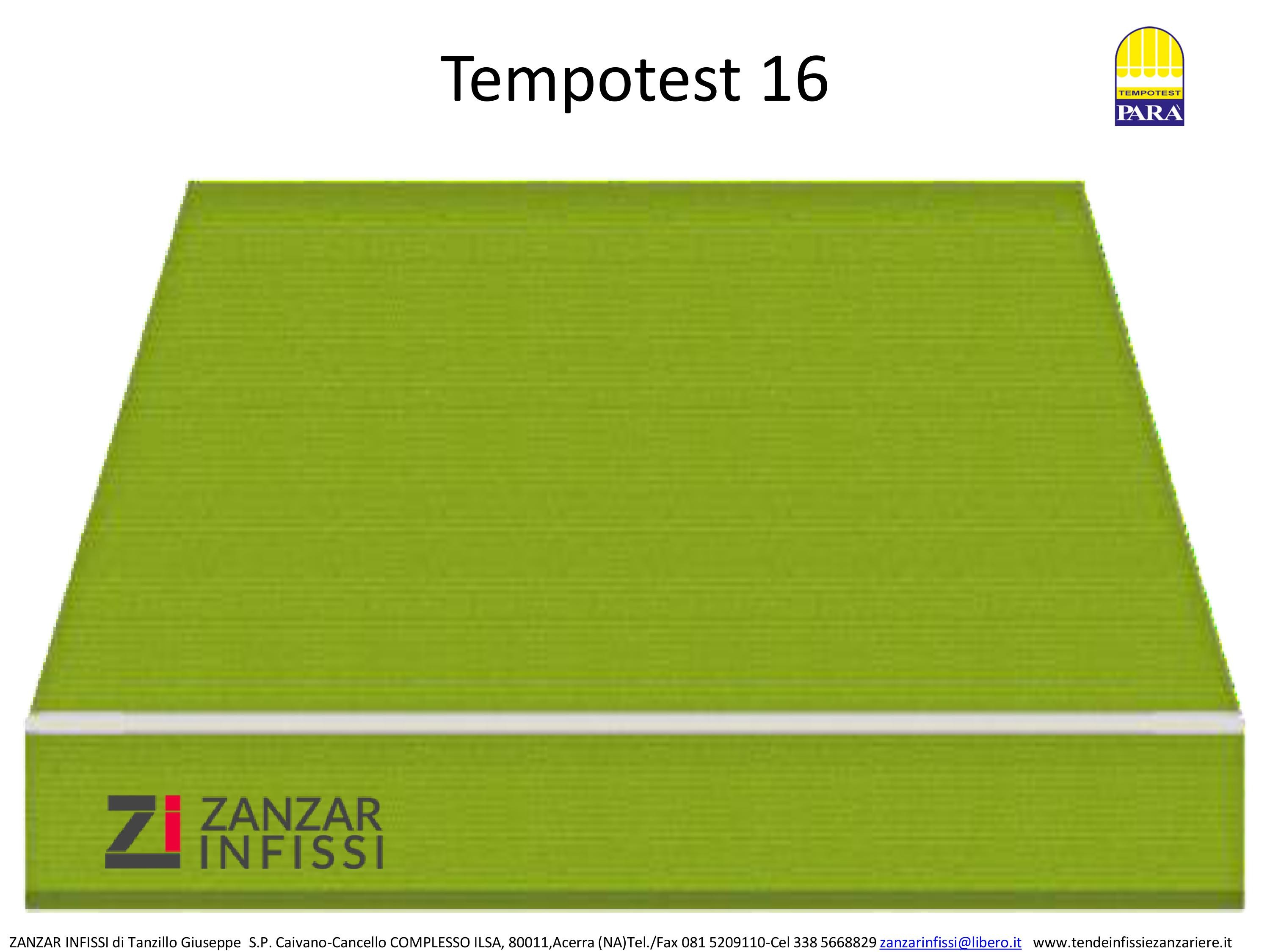 Tempotest 16