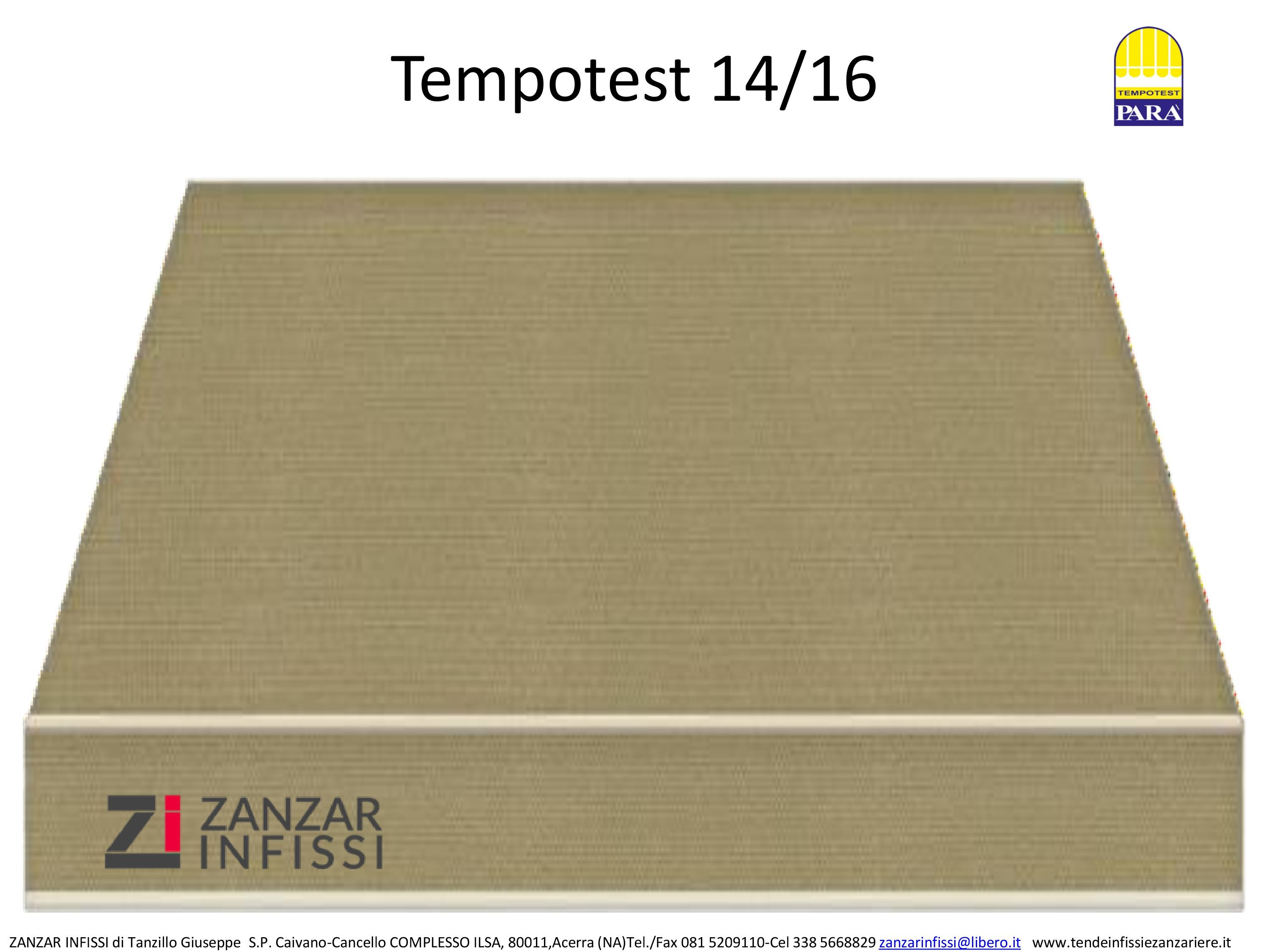 Tempotest 14/16