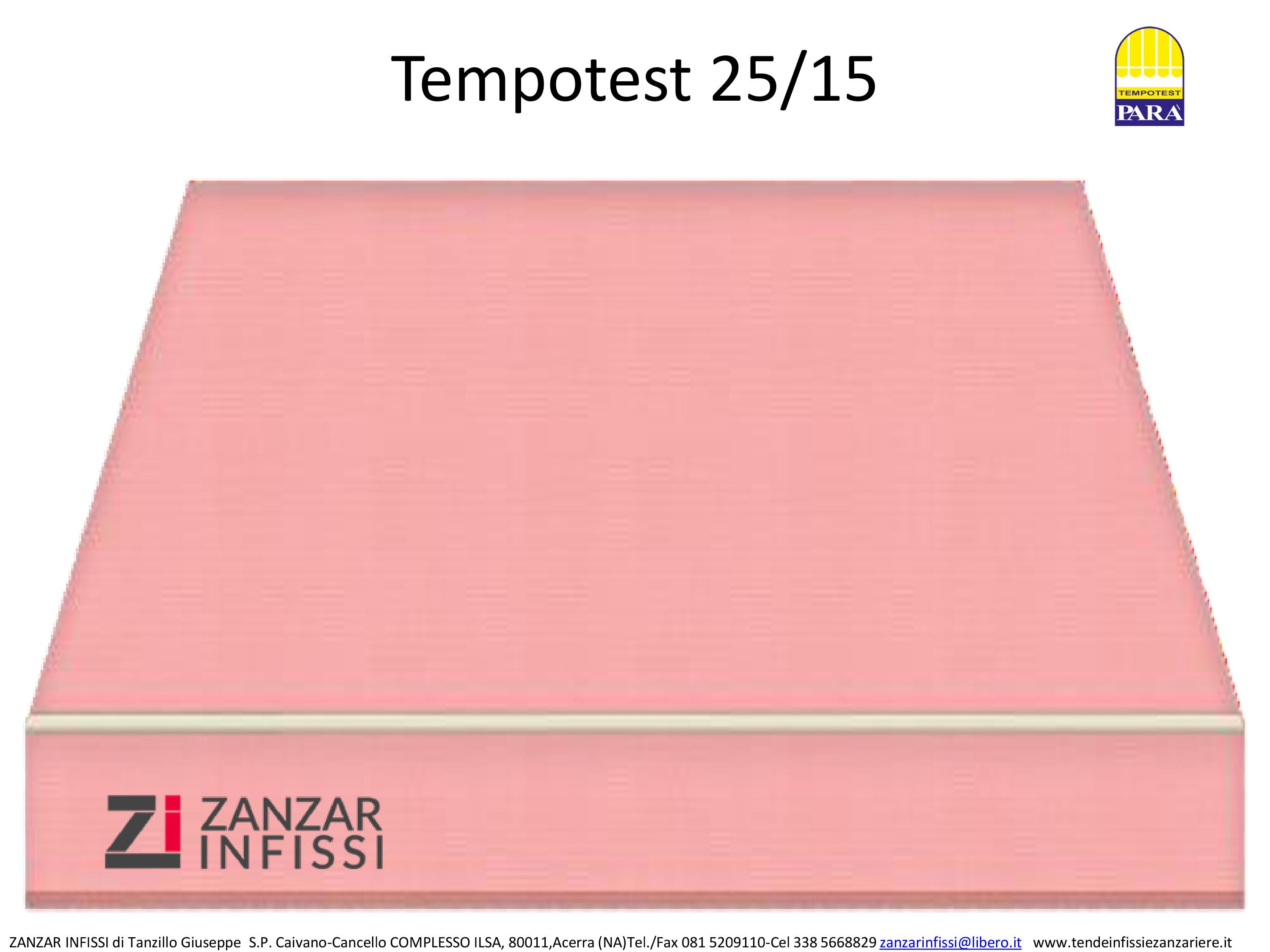 Tempotest 25/15