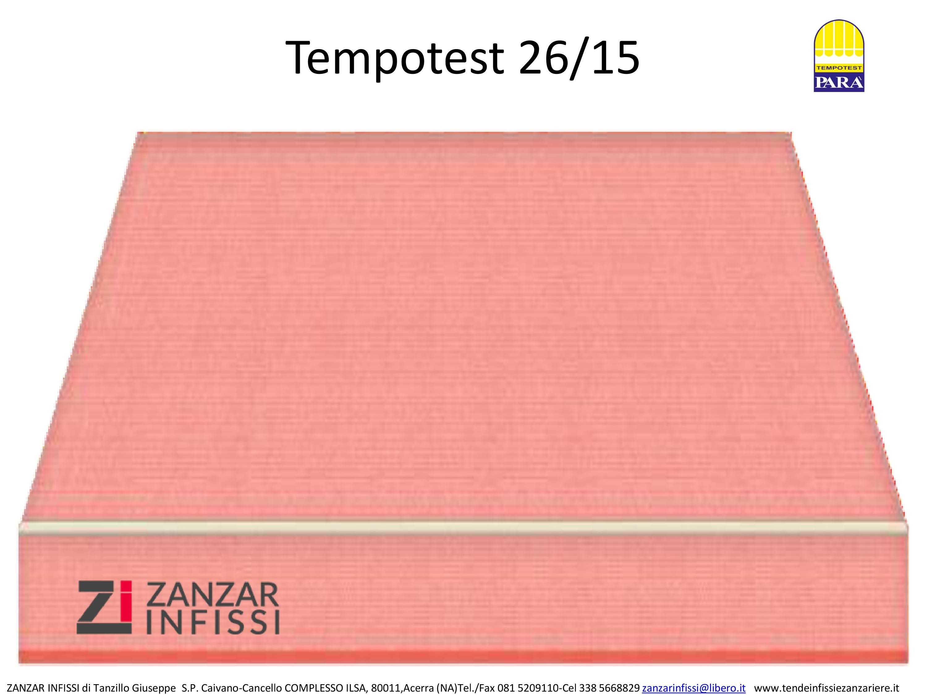 Tempotest 26/15