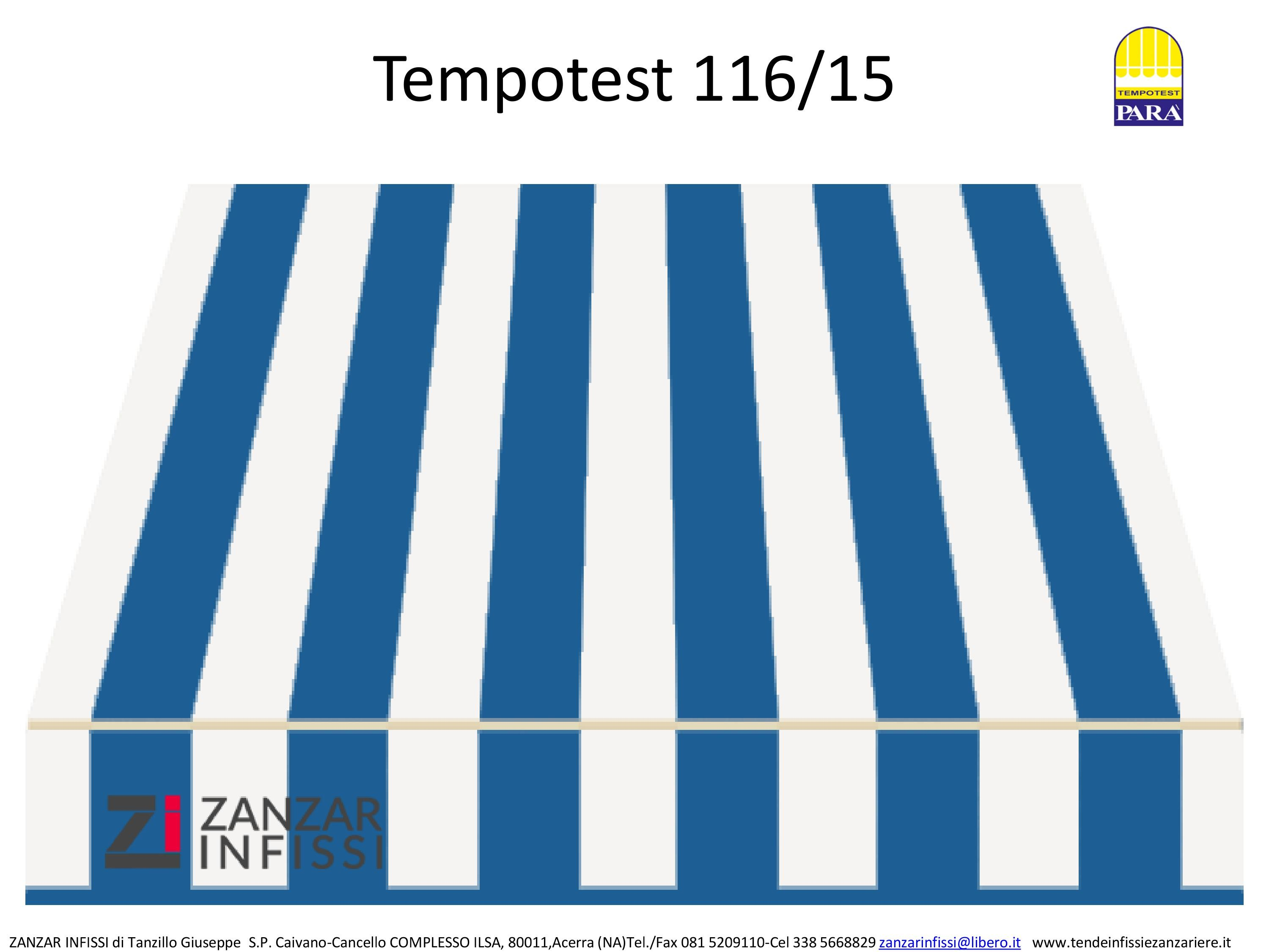 Tempotest 116/15