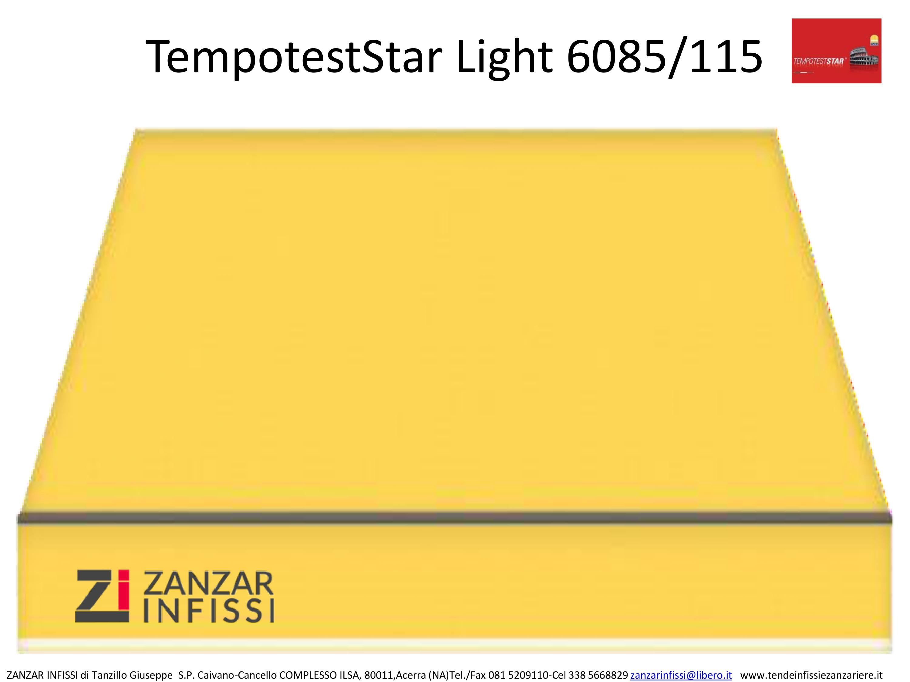 Tempotest star light 6085/115