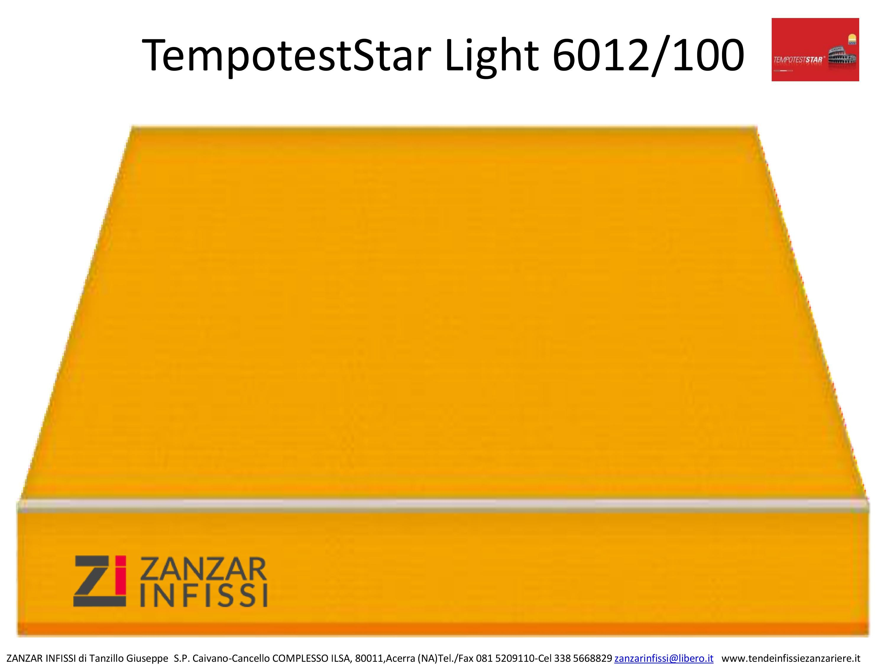 Tempotest star light 6012/100
