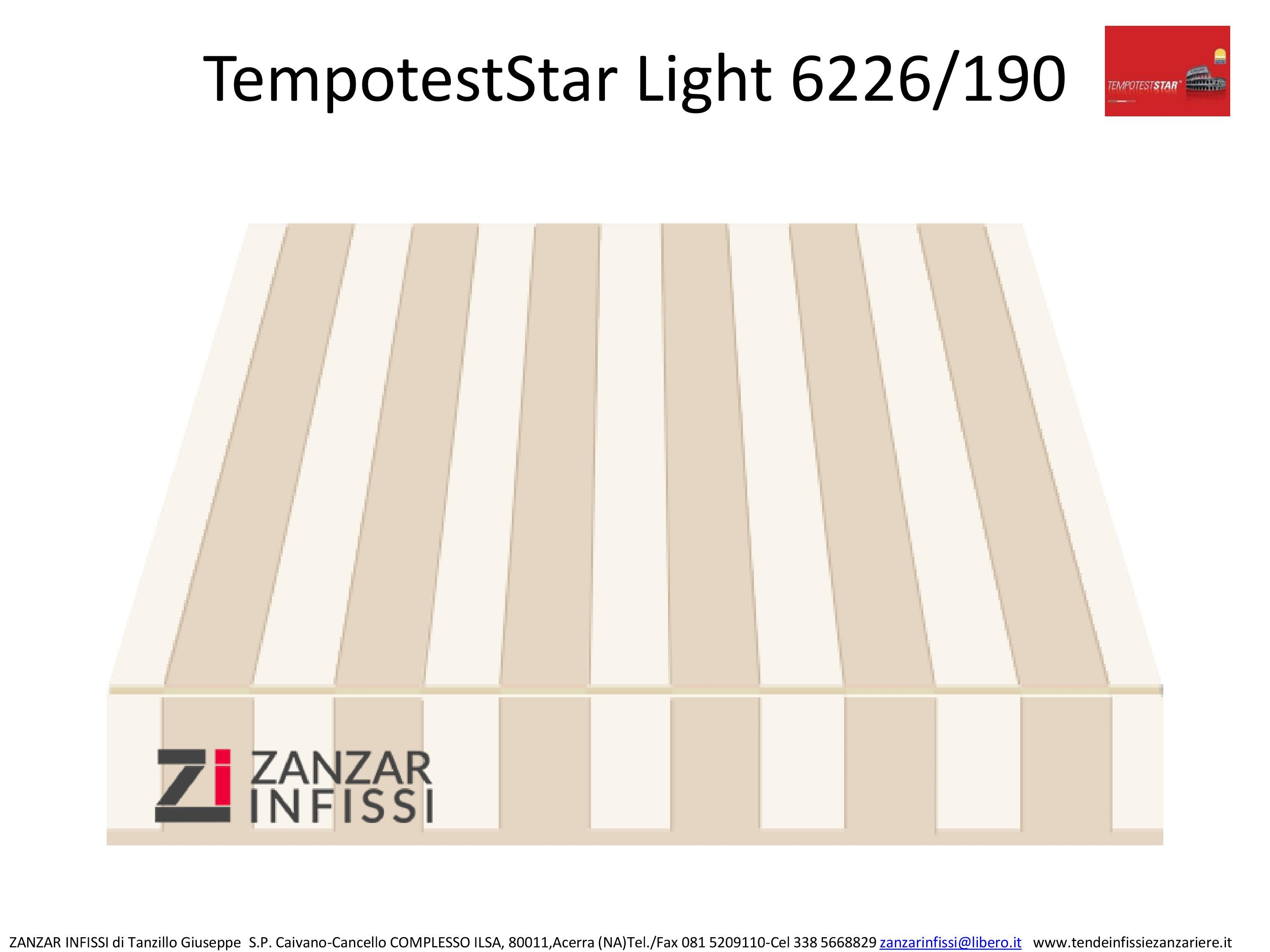 Tempotest star light 6226/190
