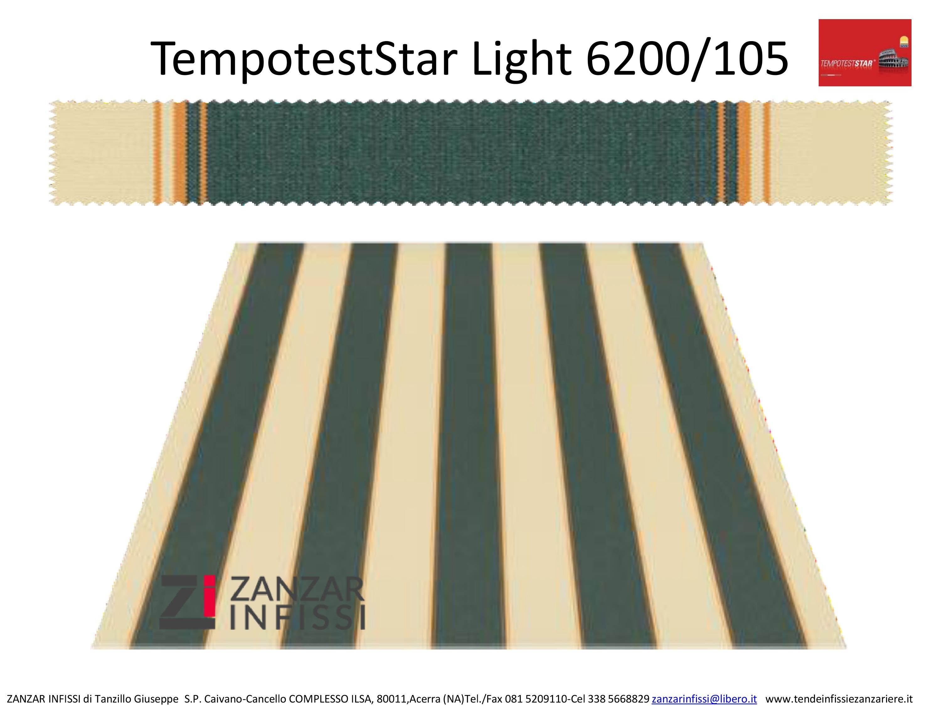 Tempotest star light 6200/105