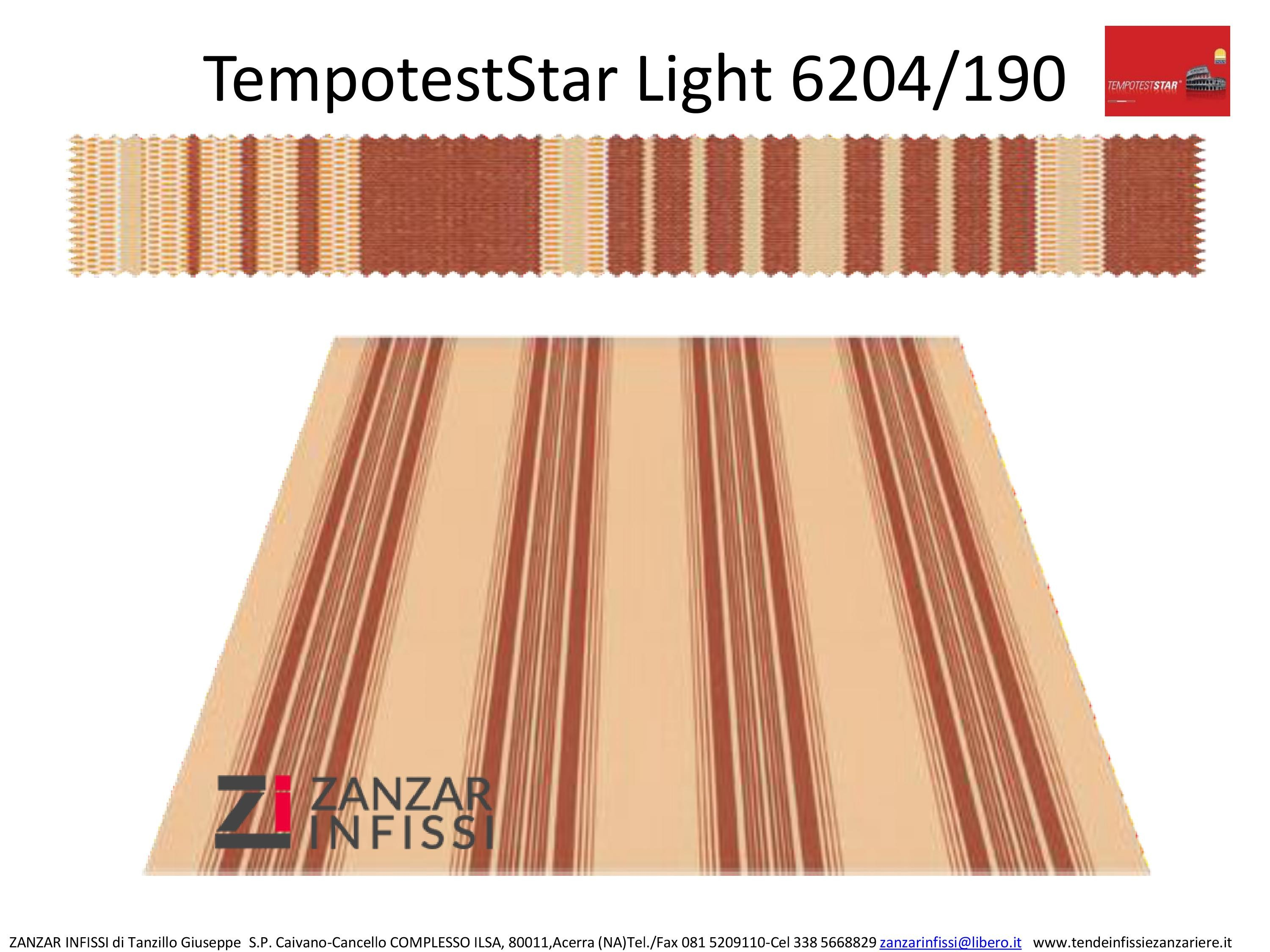 Tempotest star light 6204/190