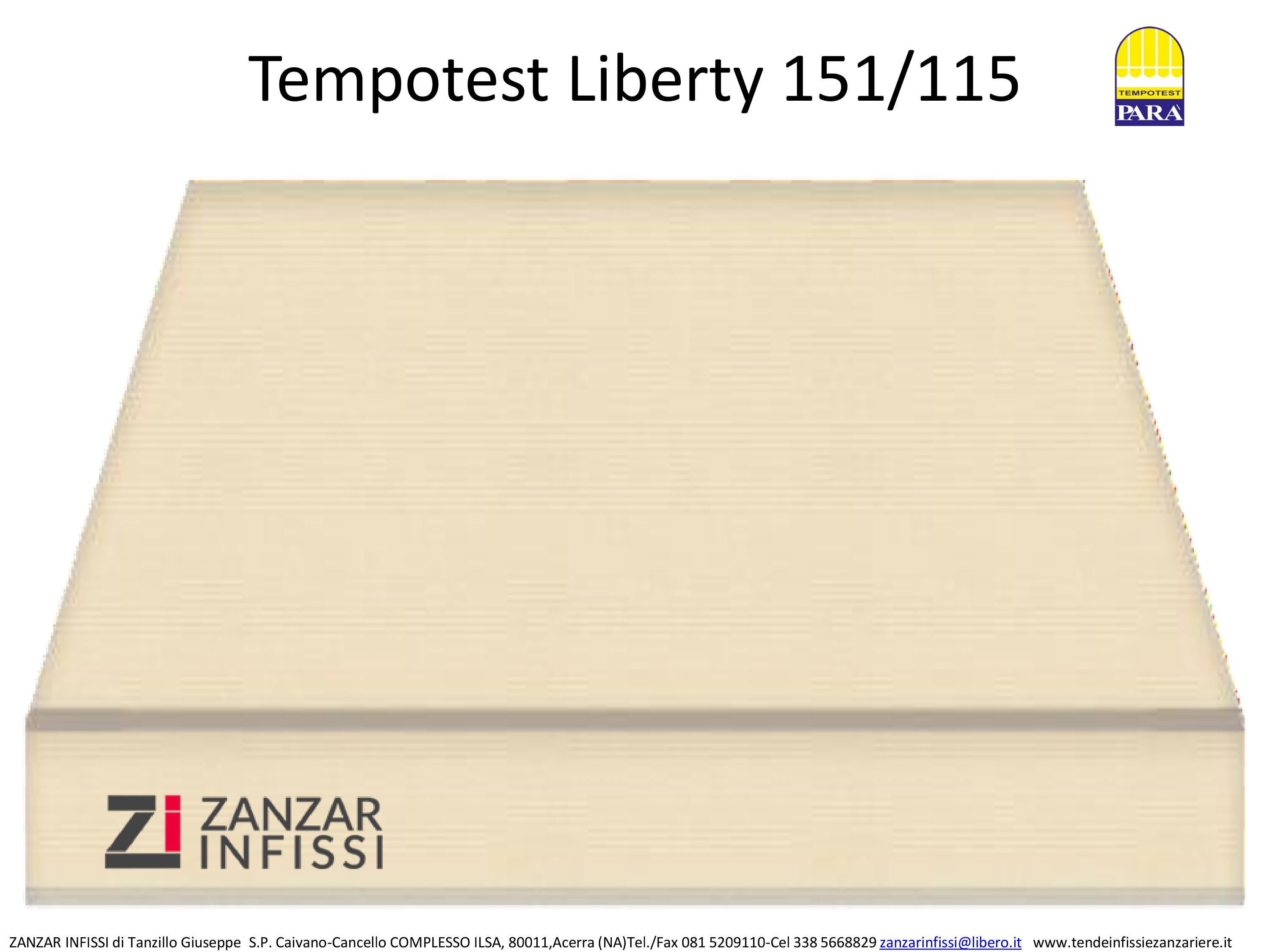 Tempotest Liberty 151/115