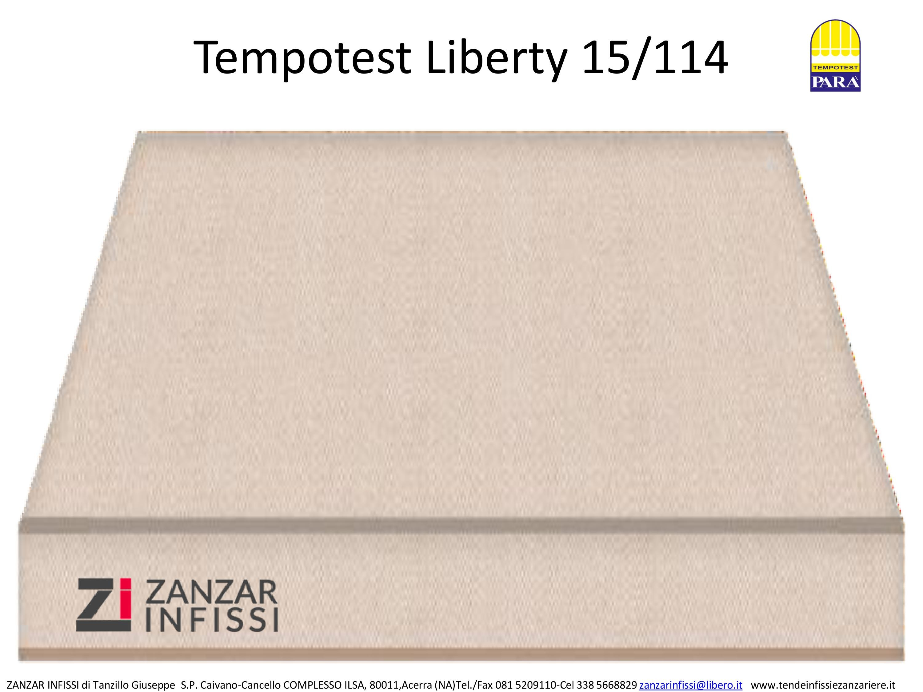 Tempotest Liberty 15/114