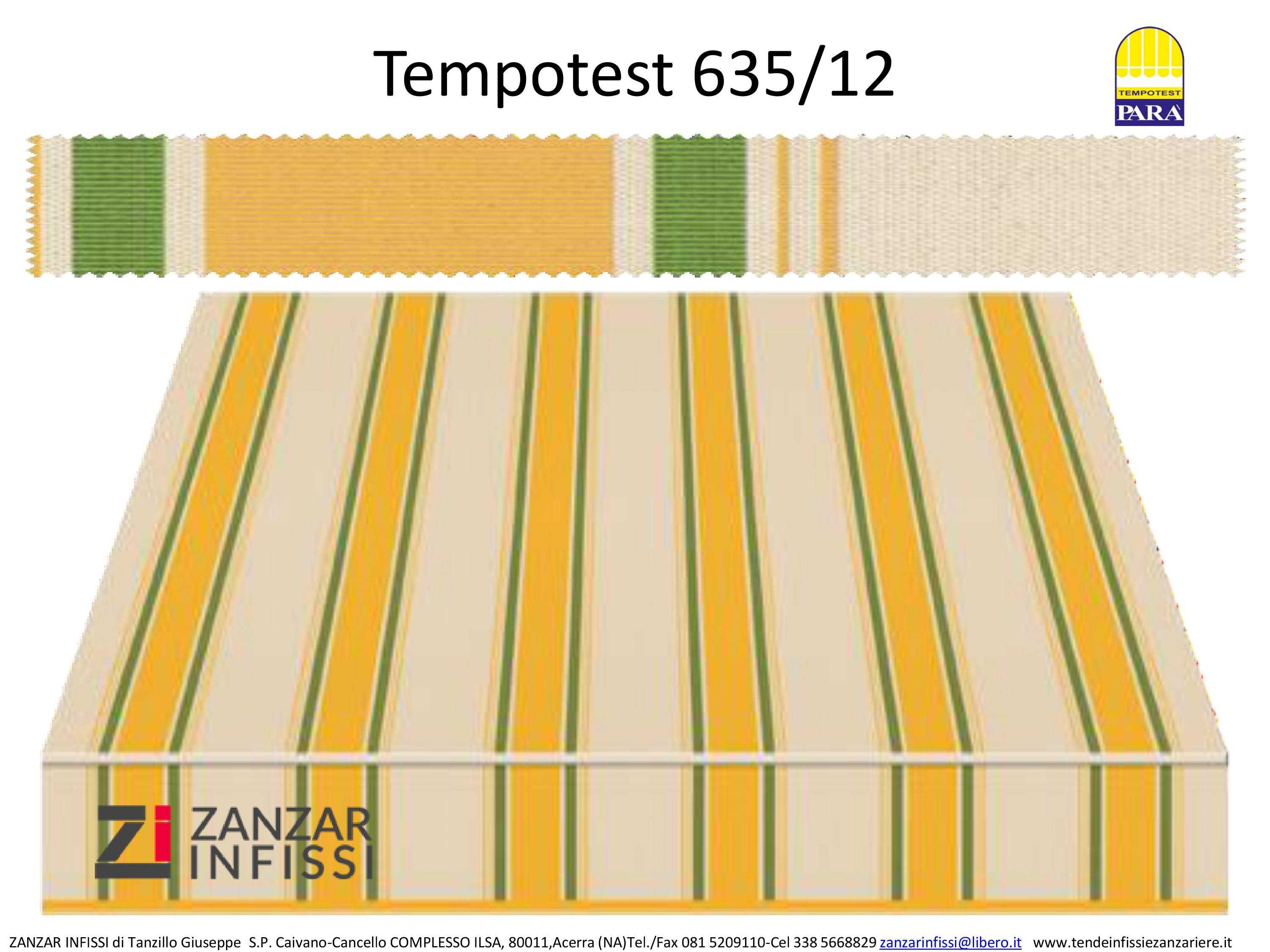 Tempotest 635/12